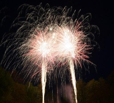 Feuerwerk Diesdorf Altmark