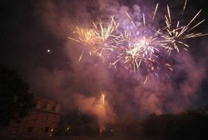 Feuerwerk Schloss Kropstädt