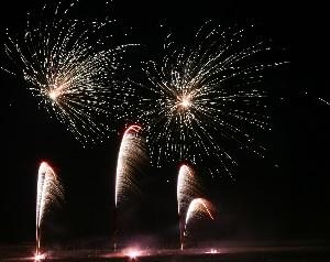 Feuerwerk Magdeburg Ramadahotel Hansapark