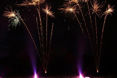 Feuerwerk Sangerhausen Mansfeld-Südharz