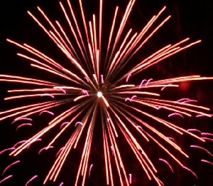 Feuerwerk Wasserburg Gommern 4