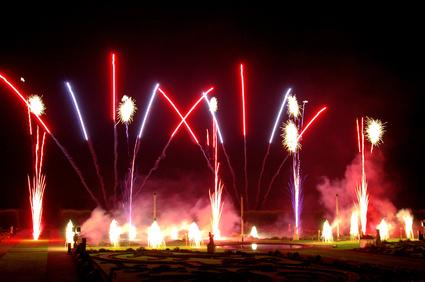 Feuerwerk Saalekreis