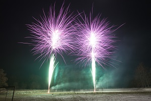Willst Du mich heiraten Lichterbild Feuerwerk